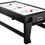 atomic 2-in-1 flip air hockey  table